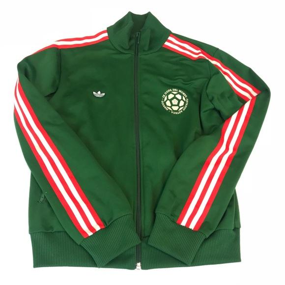 En la mayoría de los casos abrazo compañera de clases  adidas Jackets & Coats | Vintage Womens Track Jacket Mexico 70 M | Poshmark
